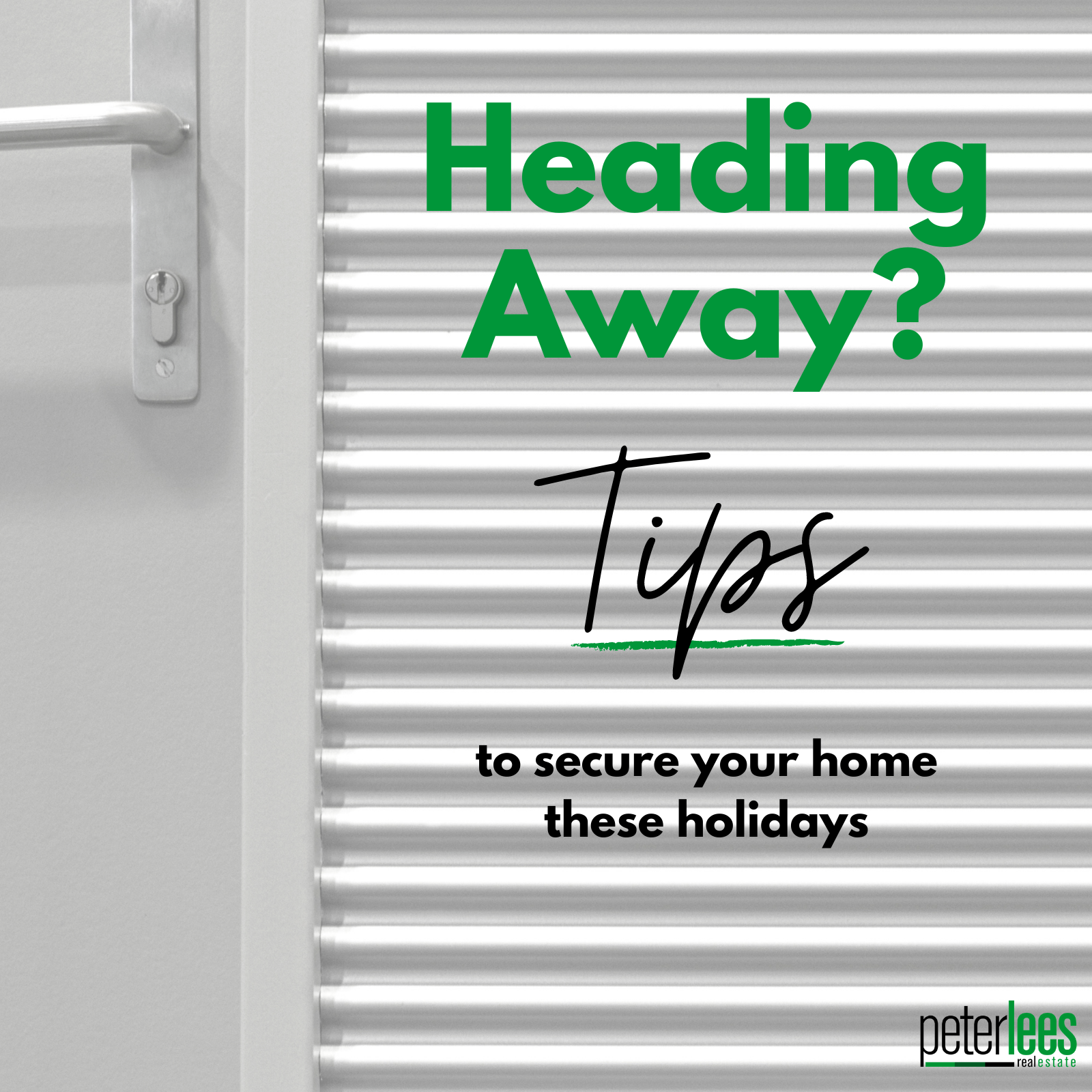 Heading Away these Holidays?